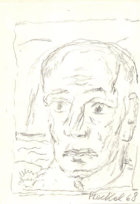 Erich Heckel  - Selfportrait | MasterArt