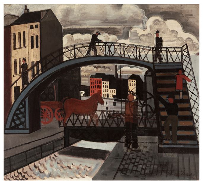 Jean Brusselmans - Foot bridge | MasterArt