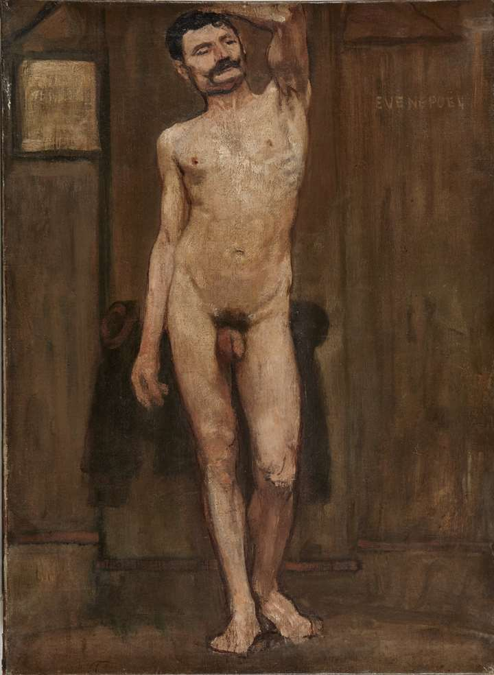 Study of the naked man