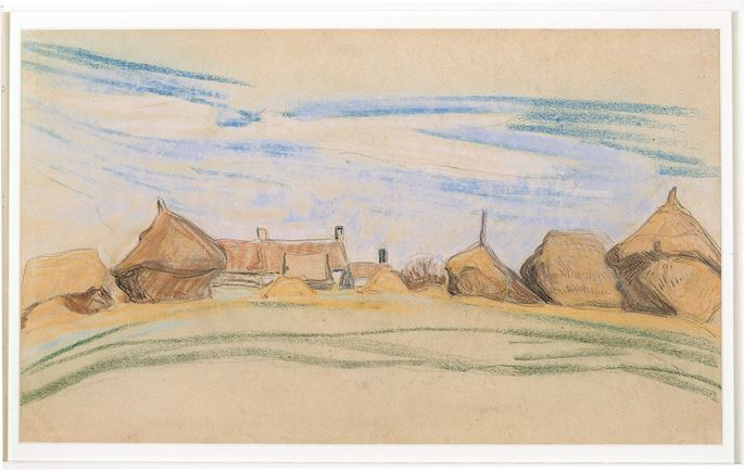 Henry Van de Velde - Farm with Haystacks | MasterArt