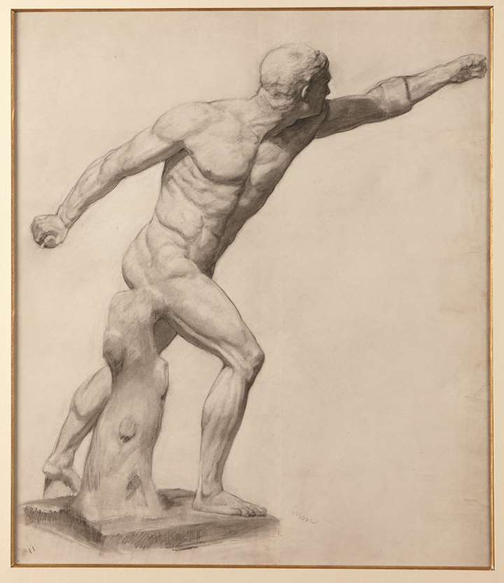 The Borghese Gladiator