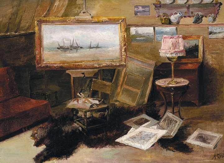 Kunstenaarsatelier