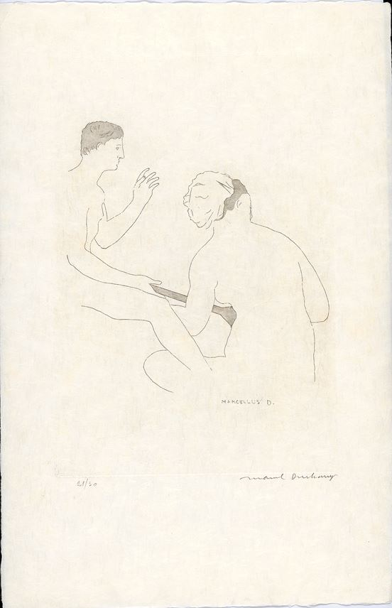 Marcel Duchamp - The Lovers Etchings | MasterArt