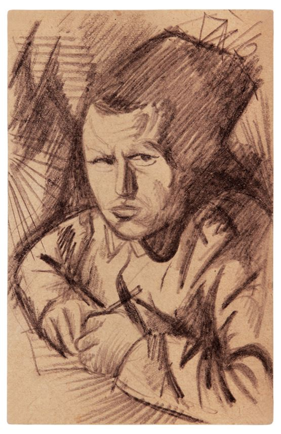Otto Dix  - Selbstbildnis | MasterArt