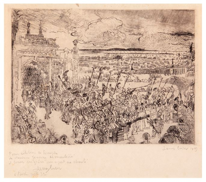 James Ensor - Roman triumphal March | MasterArt