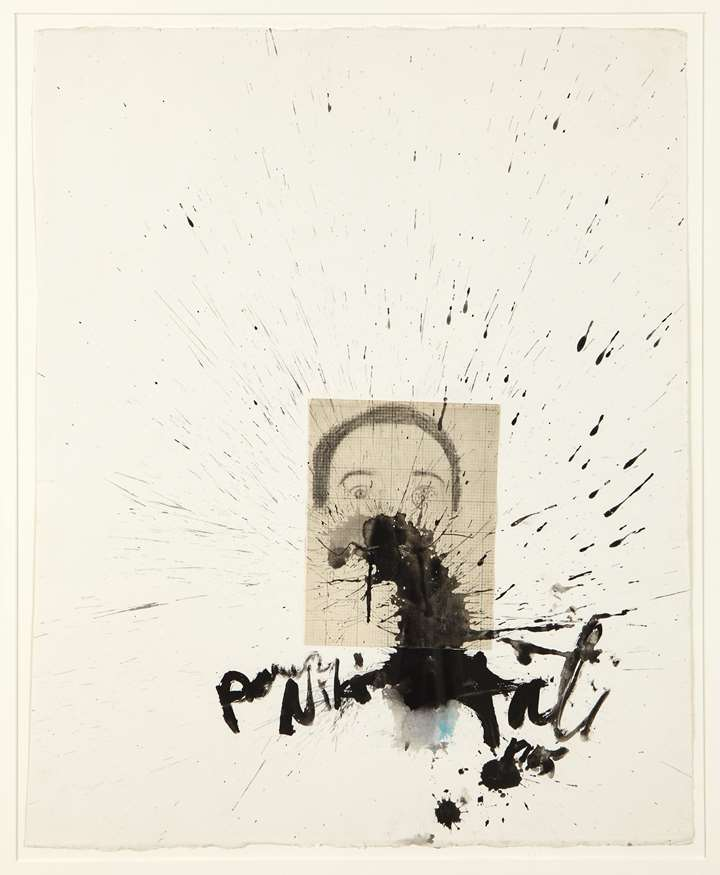 Self-portrait and explosion