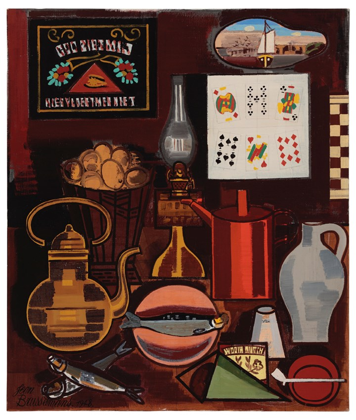 Still life with deck of cards
