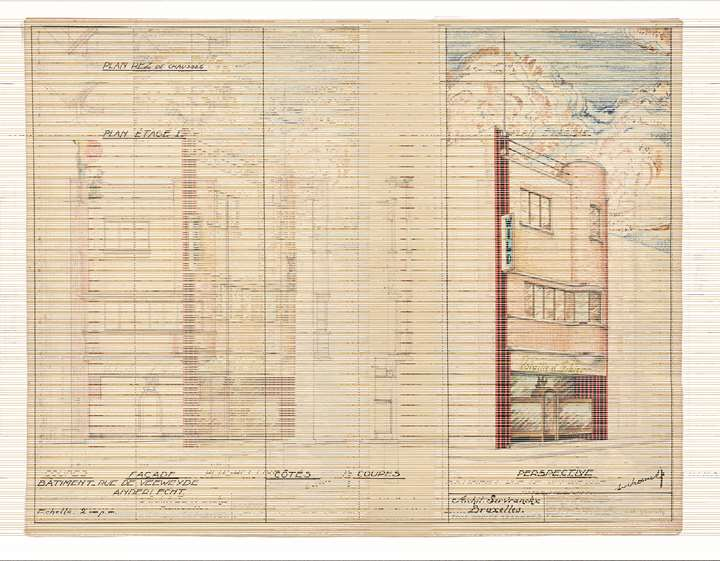 Study for building- Anderlecht