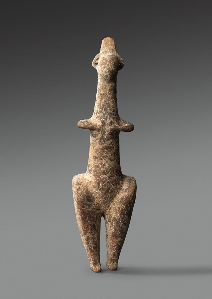 Amlash terracotta steatopygous female figure