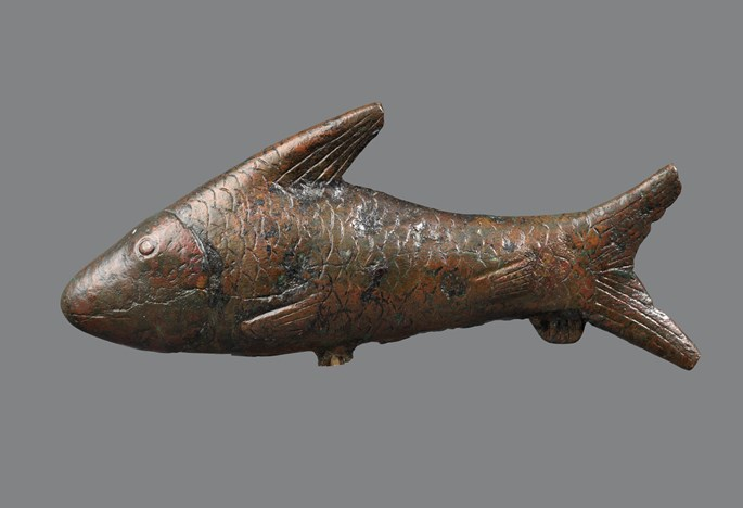Egyptian bronze bolti fish | MasterArt