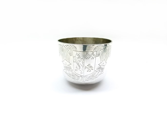 Charles II silver tumbler cup | MasterArt