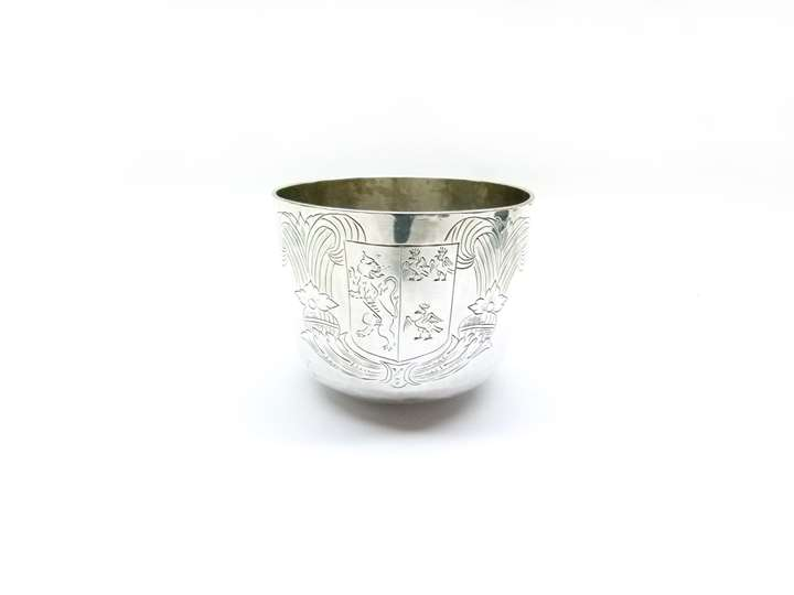 Charles II silver tumbler cup