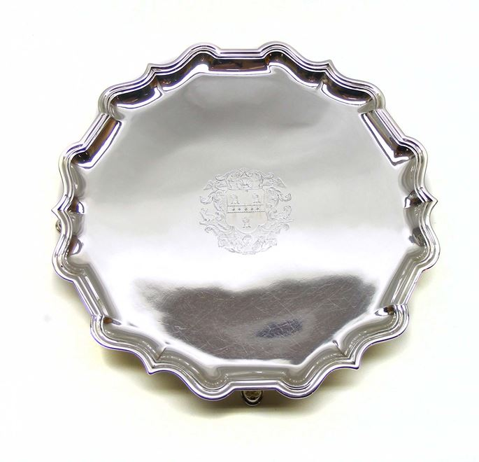 Robert Abercromby - George II silver salver by Robert Abercromby | MasterArt