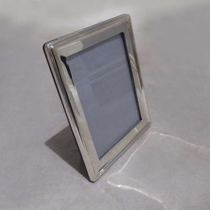 George V silver rectangular photograph frame