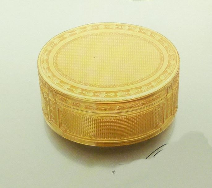 Louis XV oval gold box b | MasterArt