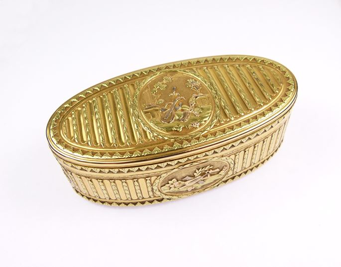 Jean-Claude Genu - Louis XV oval gold box | MasterArt