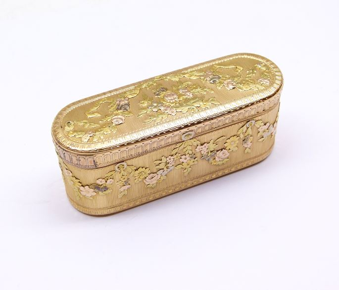 Louis XV vari-coloured oblong gold box | MasterArt