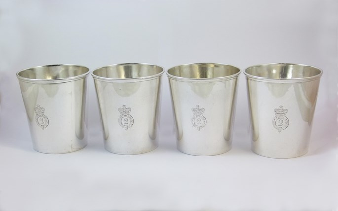 Stephen Smith & William Nicholson - Matched set of four 19th century silver beakers | MasterArt