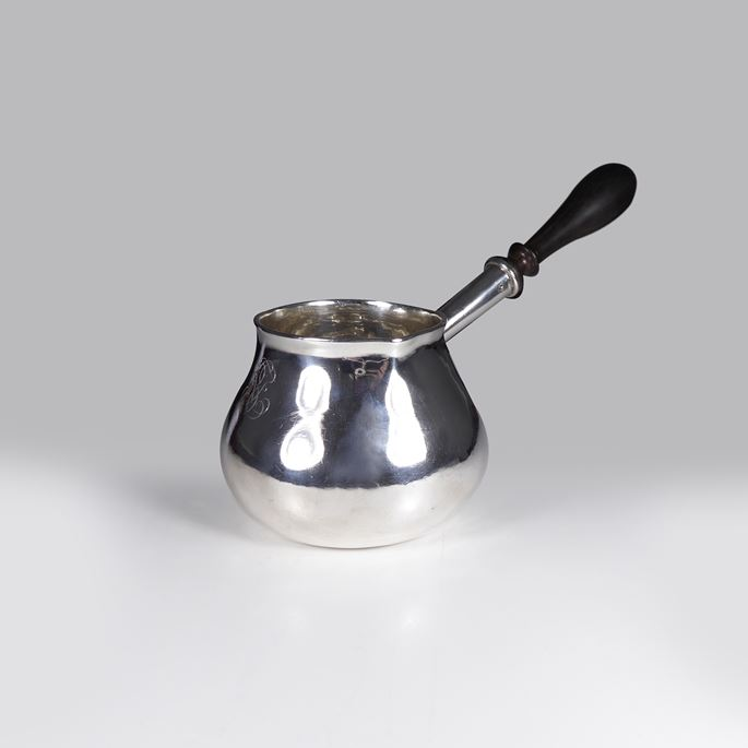 Queen Anne silver brandy pan | MasterArt