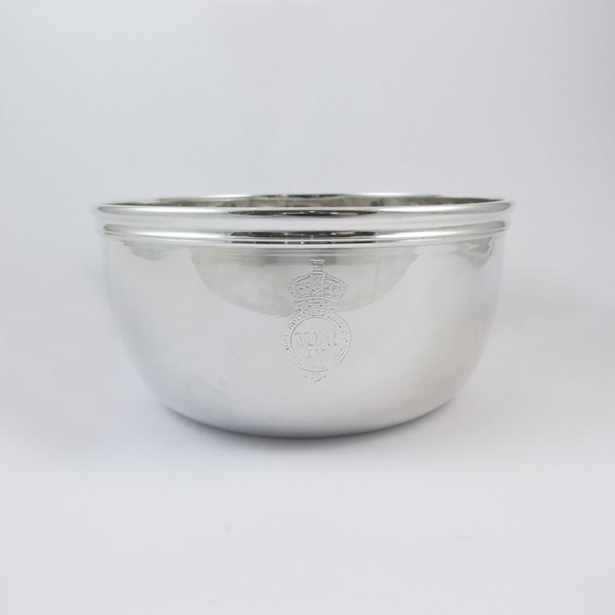 William IV silver pudding bowl | MasterArt