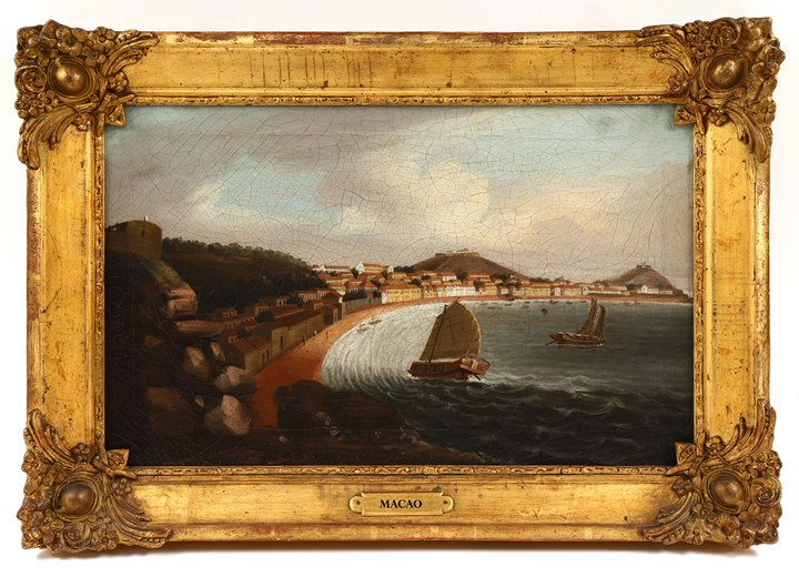 3 China Trade Paintings D1274 D1274a D1274b