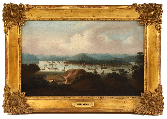 3 China Trade Paintings D1274 D1274a D1274b | MasterArt