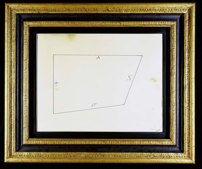 Antoni TAPIES - Geometric Drawing | MasterArt
