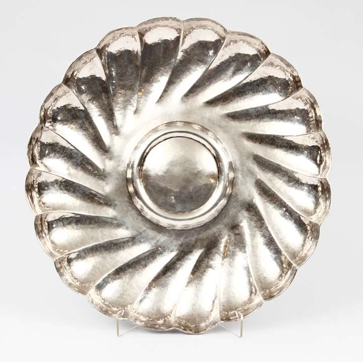 Gadrooned Portuguese Salver