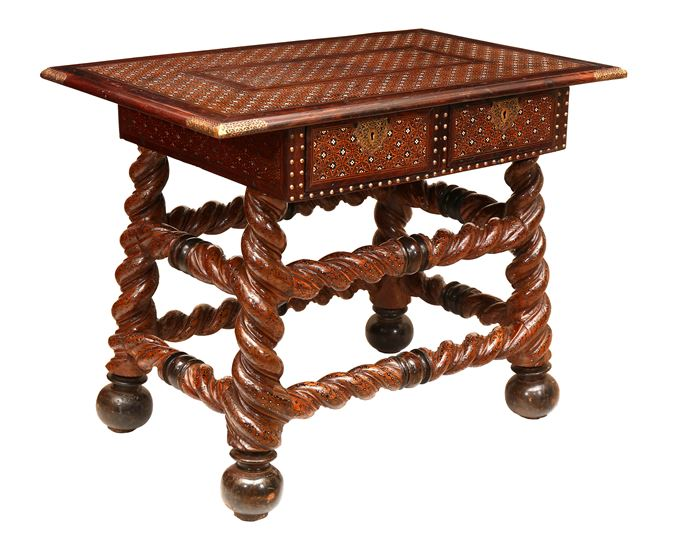 Indo-Portuguese Writing Table | MasterArt