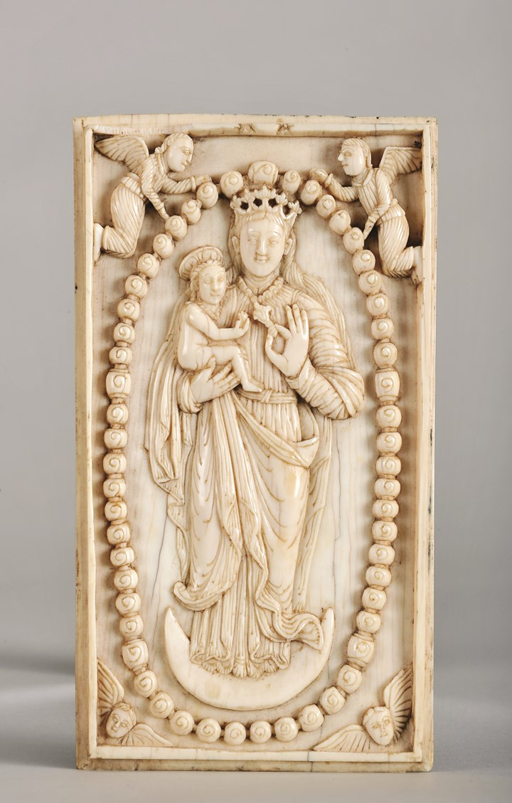 Our Lady of The Rosary Plaque