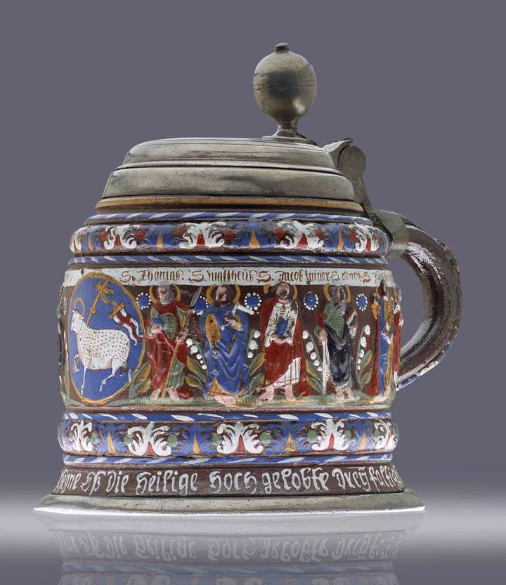 TANKARD WITH THE TWELVE APOSTLES