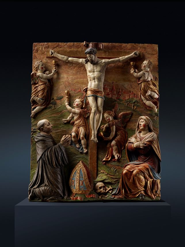 CRUCIFIXION WITH DONOR | MasterArt