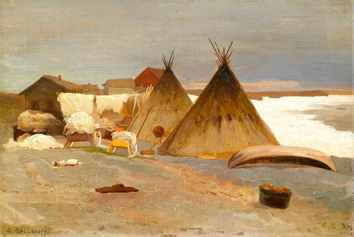 Encampment in the Snow