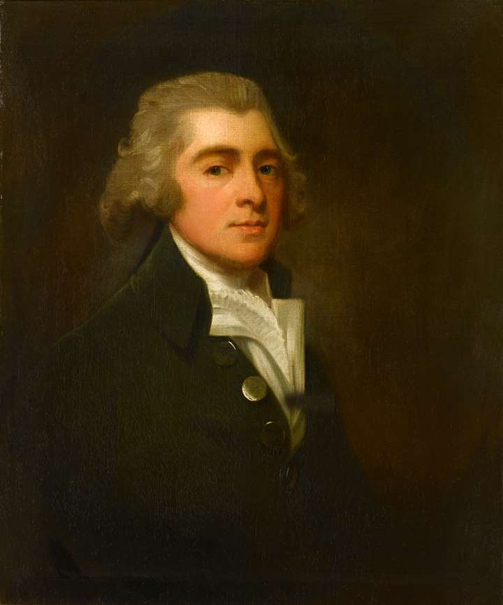 Portrait of a Gentleman, Half-Length, Wearing a Dark Coat and White Stock