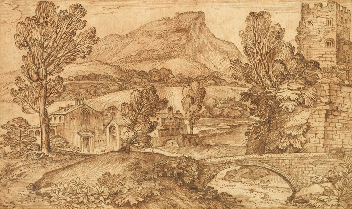 Landscape near Viterbo