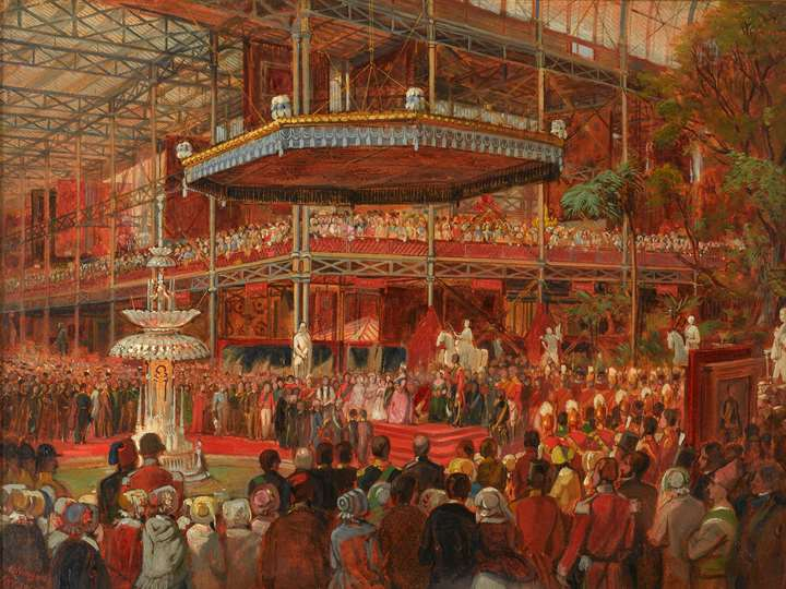 The Opening of the Great Exhibition
