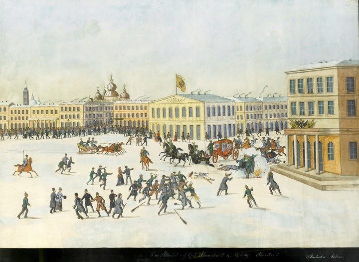 The Assassination of Alexander II