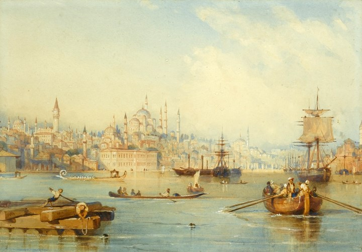Constantinople from the Entrance of the Golden Horn