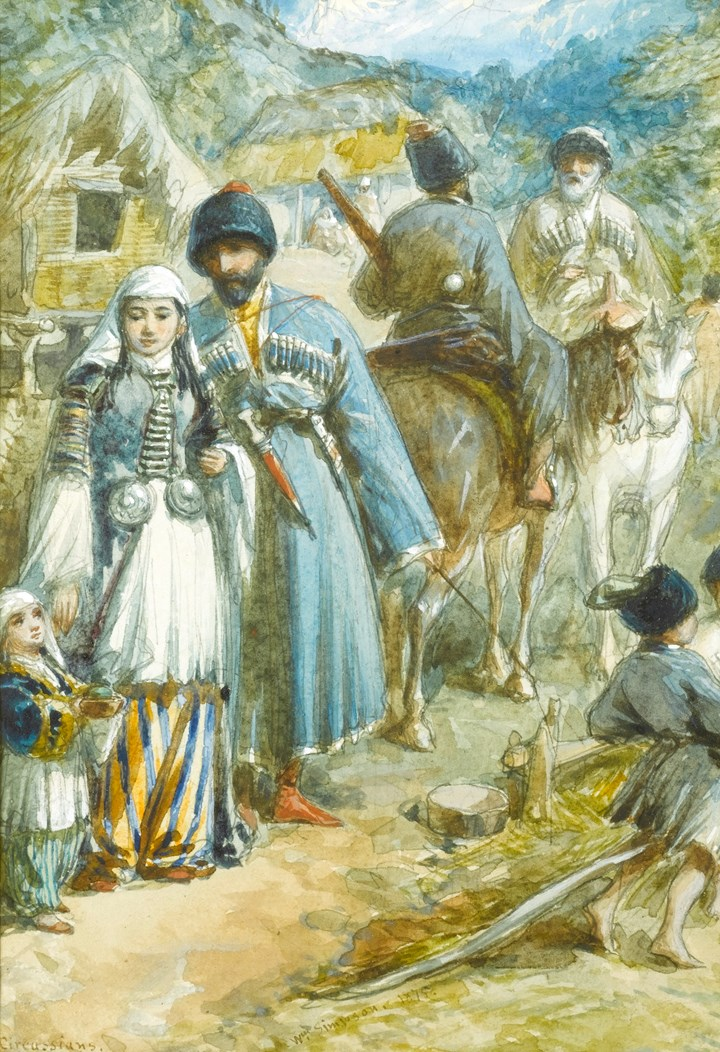 Circassia. Tcherkess of the Soubash.