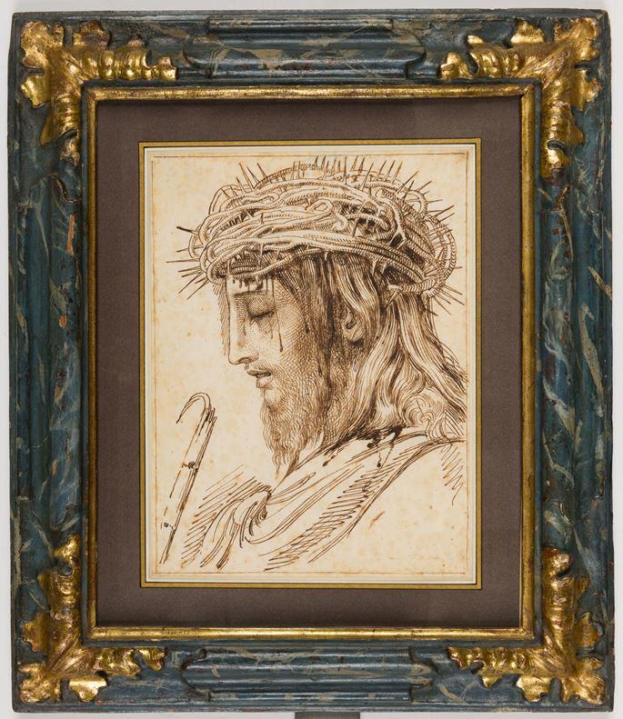 Luigi Sabatelli - Christ with the Crown of Thorns | MasterArt