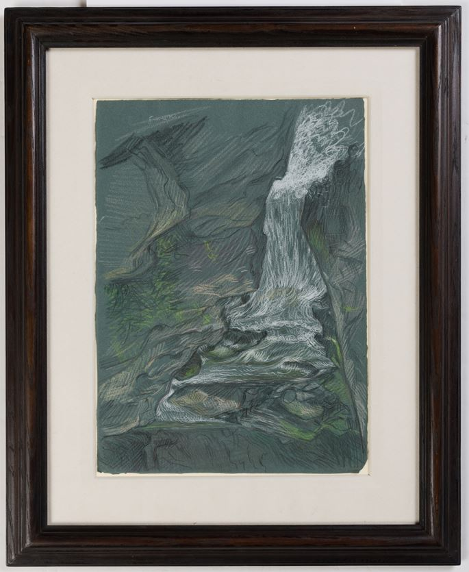 Paul CADMUS - Vermont Waterfall No.1 | MasterArt