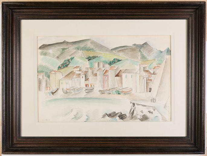 Andre LHOTE - View of Collioure, Pyrénées | MasterArt