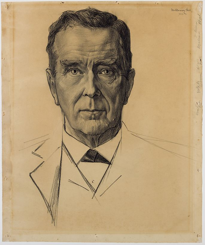 Jan Toorop - Portrait of the Rev. Dr. Jan Heldring | MasterArt