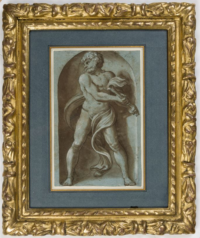 Hendrick GOLTZIUS - Pluto, after Polidoro da Caravaggio | MasterArt