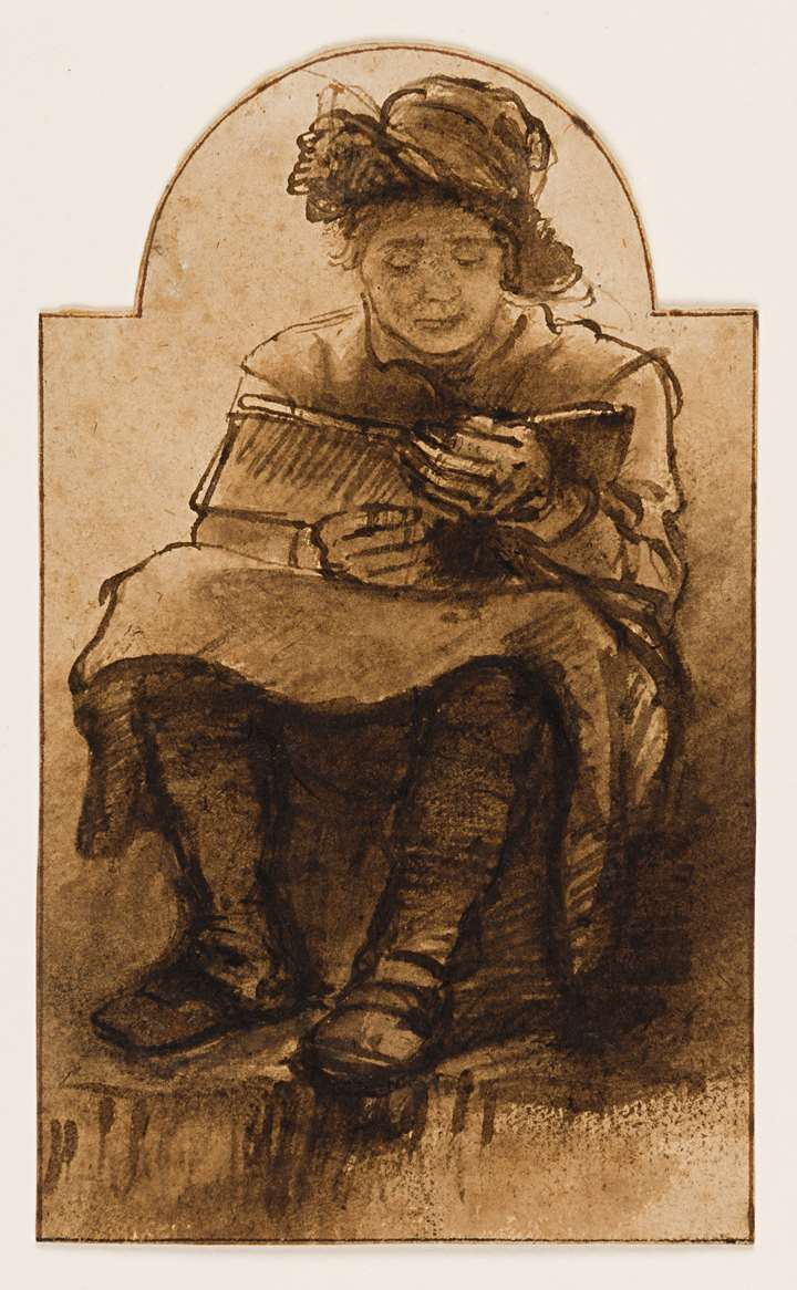 A Seated Youth with a Book