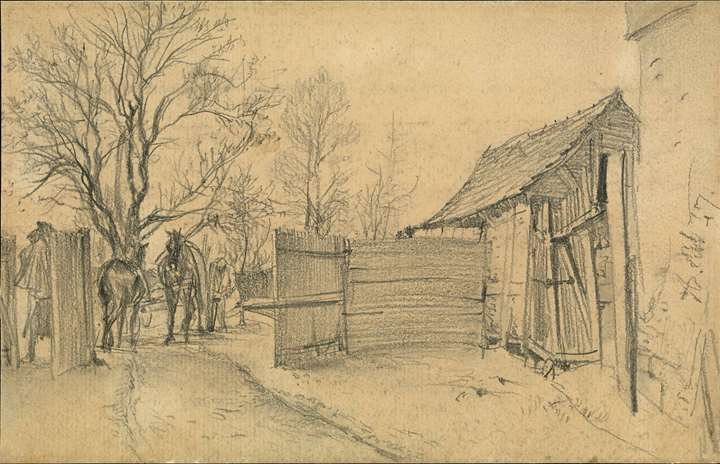 A Farmstead near Kassel