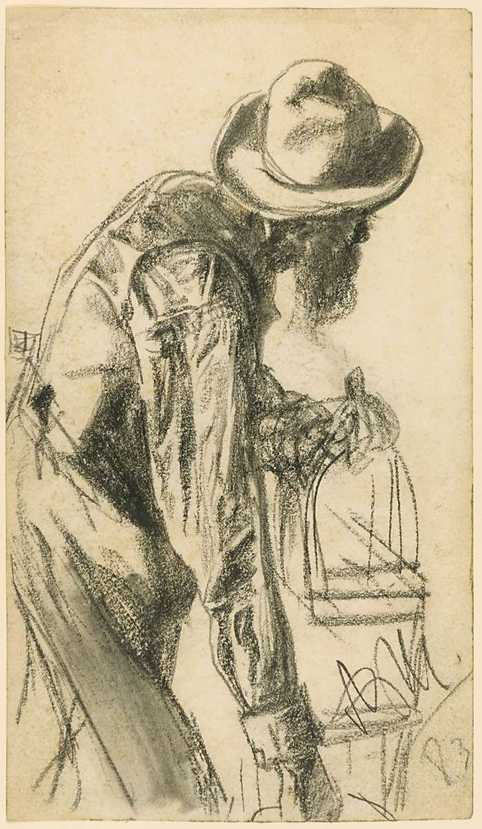 A Man with a Birdcage