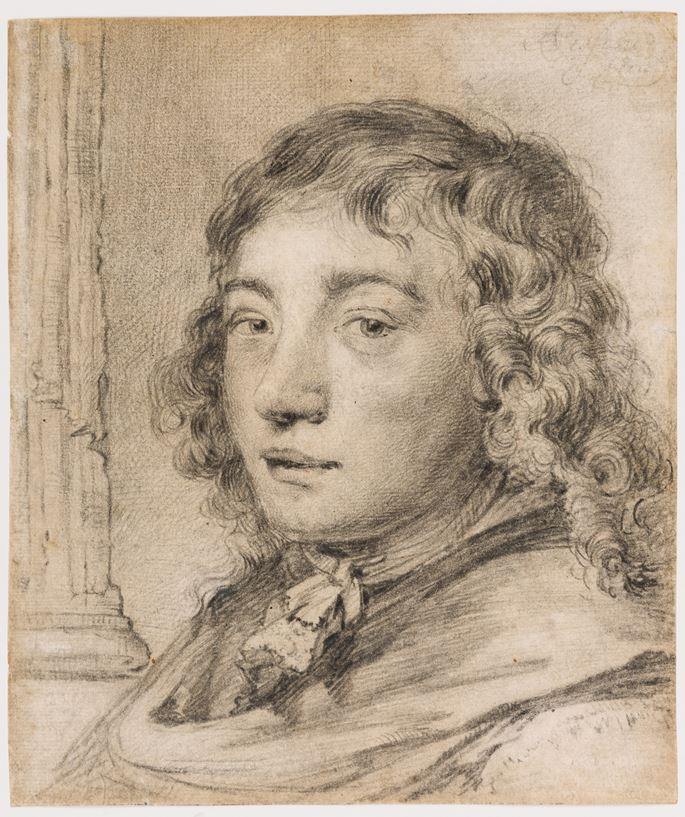 Cornelis VISSCHER - Portrait of a Young Man, possibly Jonas Umbach | MasterArt