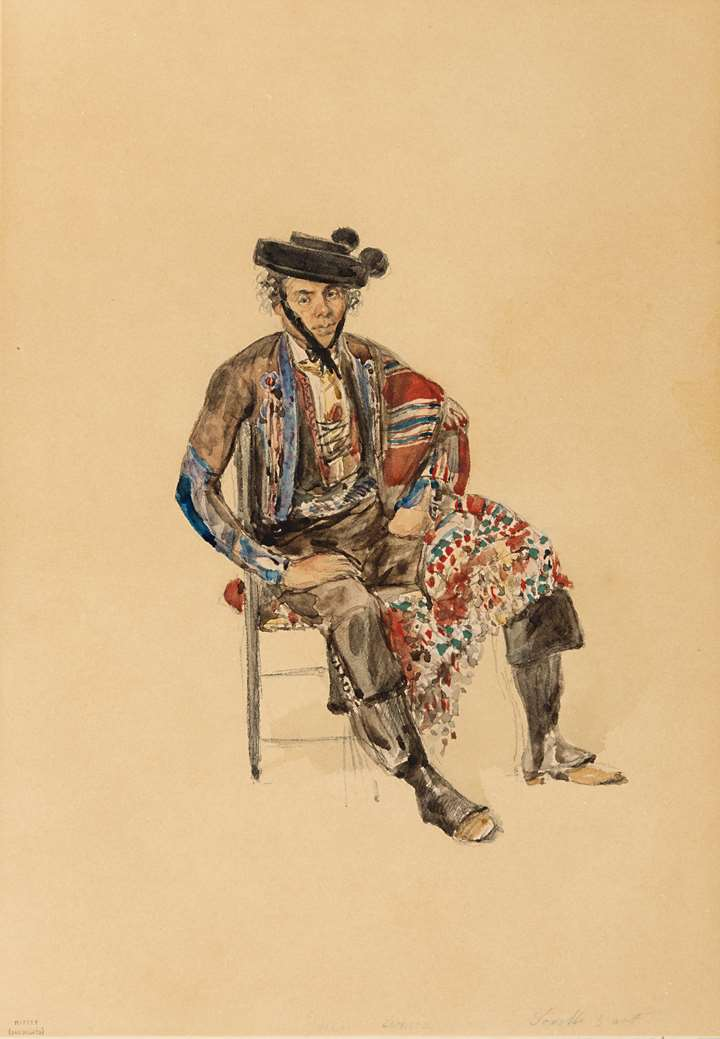 Portrait of the Smuggler Juan Arria, Seated