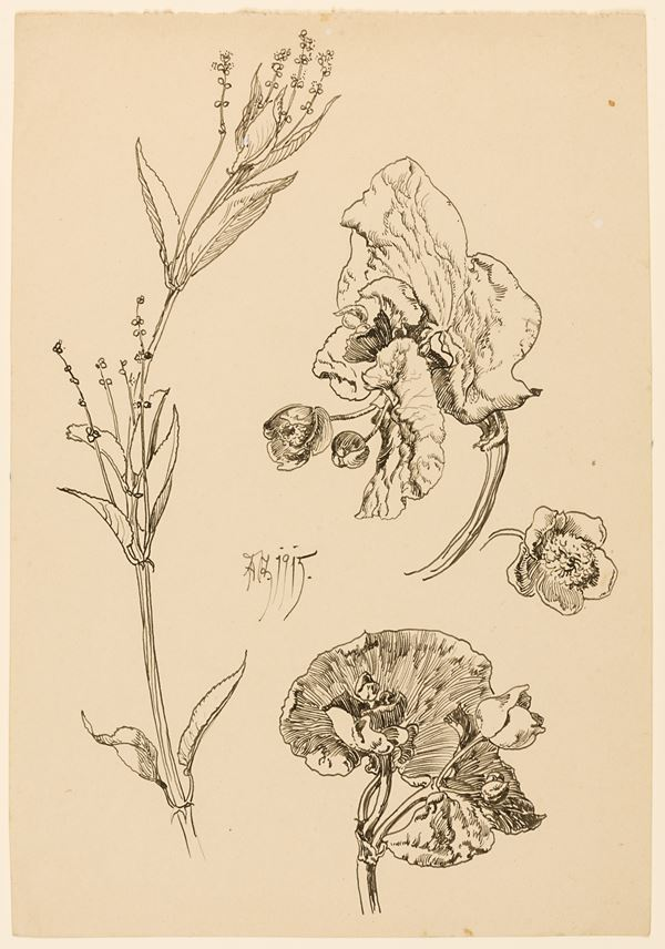 Edmund STEPPES - Studies of Flowers | MasterArt